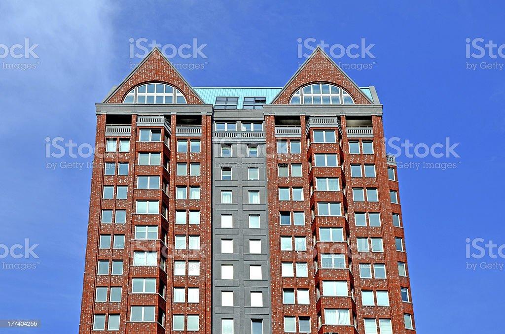Apartment in Rotterdam stock photo