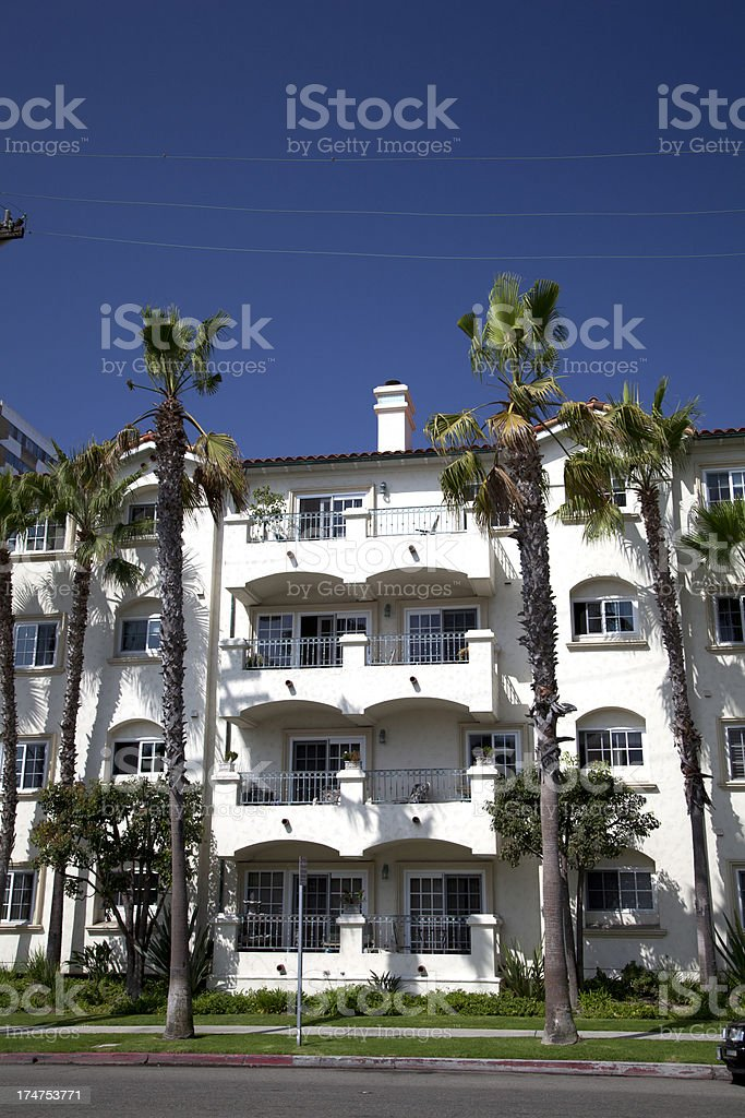 Apartment in the city royalty-free stock photo