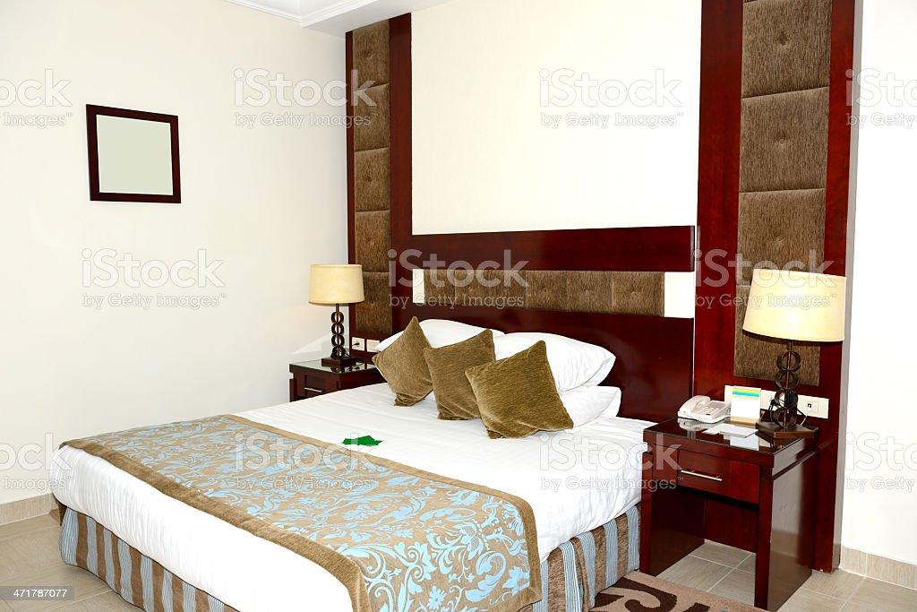 Apartment interior in the luxury hotel, Sharm el Sheikh, Egypt royalty-free stock photo