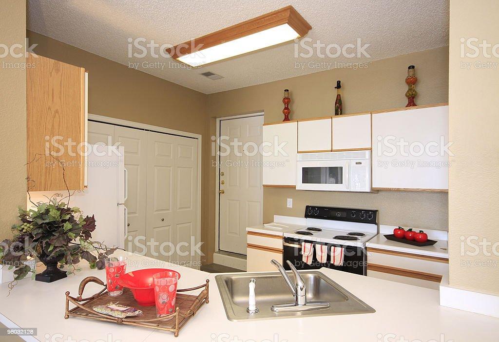 Apartment Kitchen royalty-free stock photo