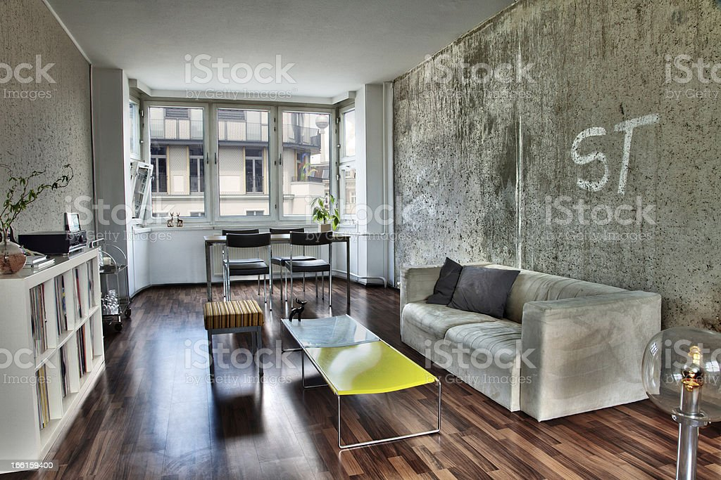 Apartment Living Room royalty-free stock photo