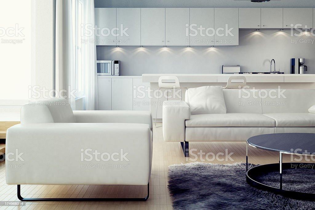 Apartment stock photo