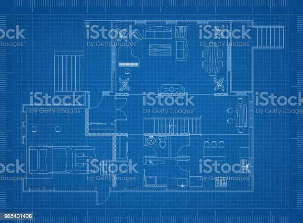 Foto de Modelo De Plano De Apartamento e mais fotos de stock de Apartamento