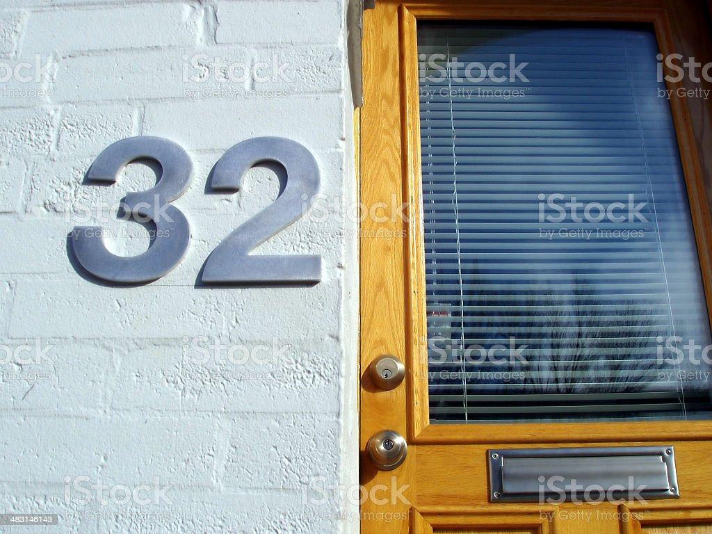 Apartment Thirty-two stock photo