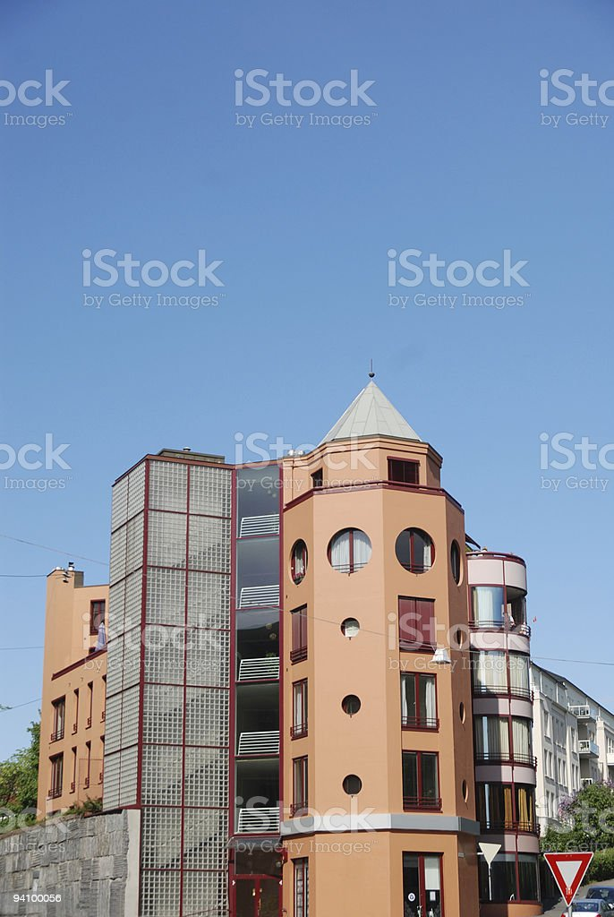 Apartment Tower stock photo