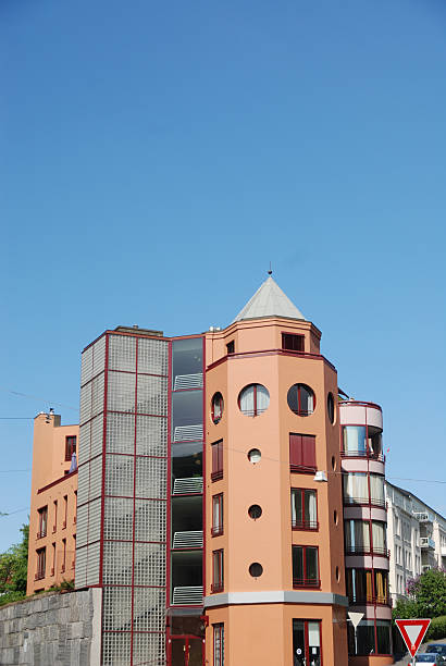Apartment Tower stock photo