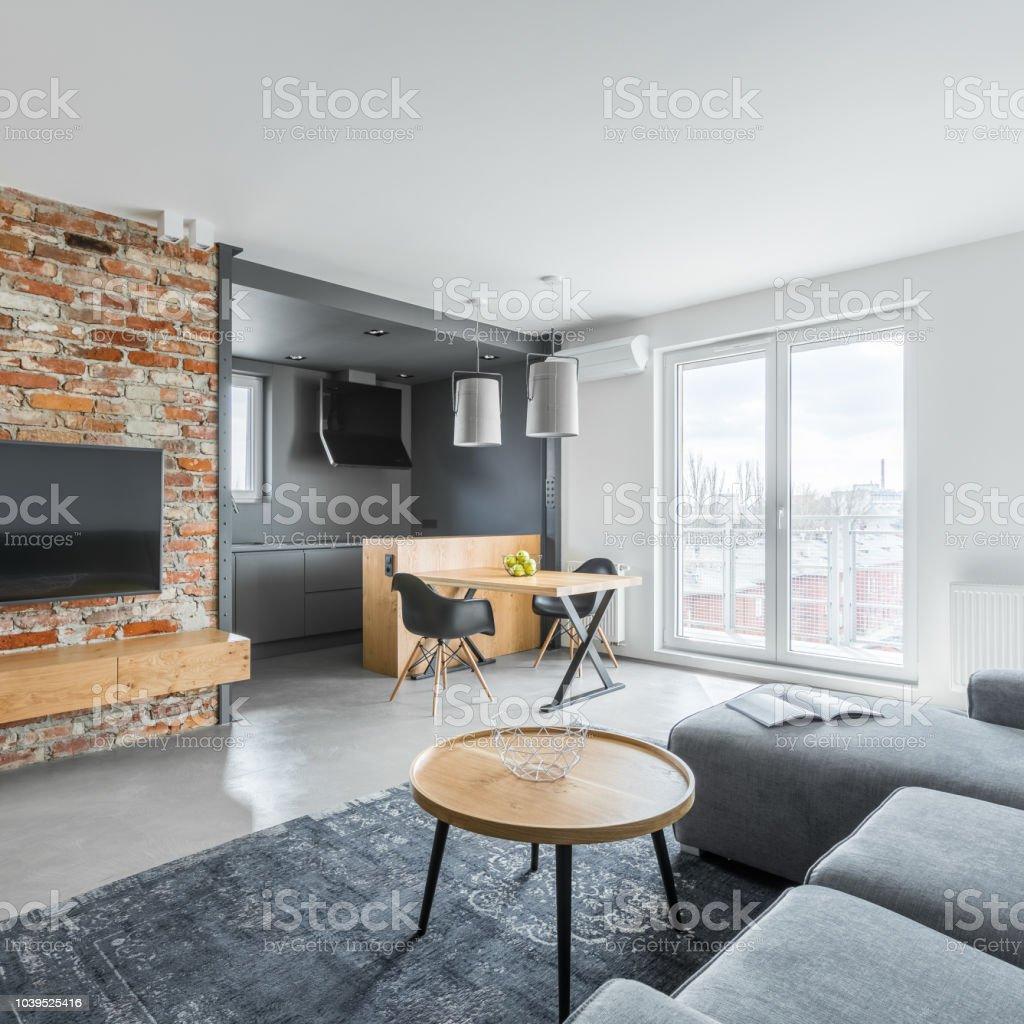 Wohnung Mit Offener Kuche Stockfoto Und Mehr Bilder Von Architektur Istock