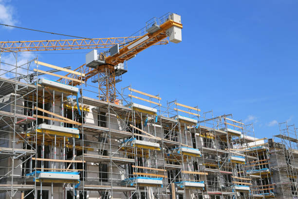 apartment_construction - reifen hamburg stock-fotos und bilder