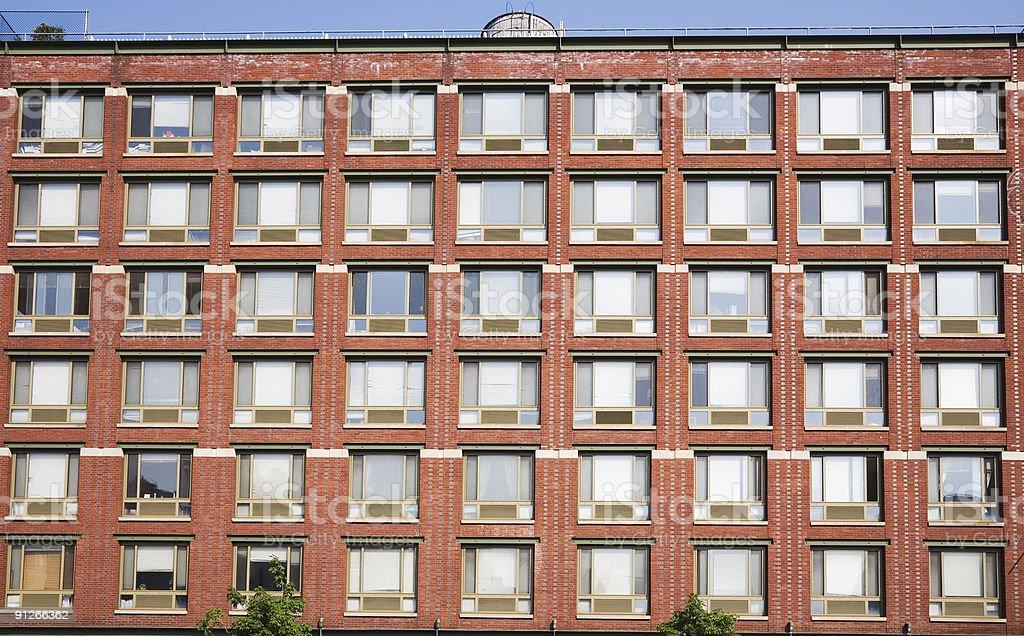 NYC Apartments - 1 royalty-free stock photo
