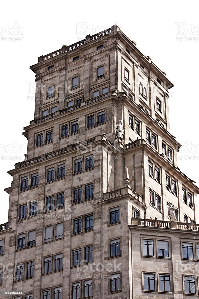 apartments, architecture of building exterior royalty-free stock photo