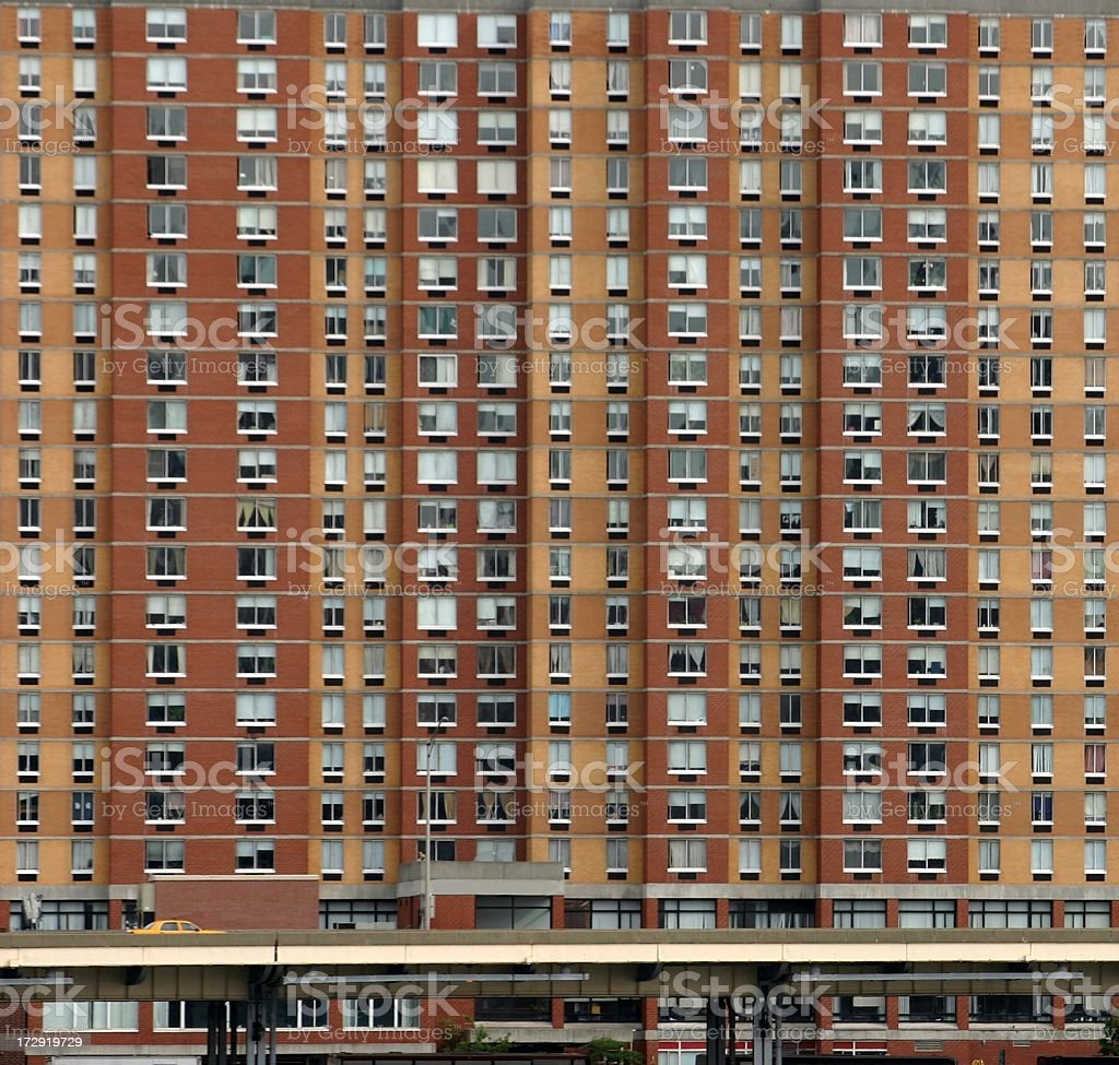 Apartments East Side, NYC stock photo