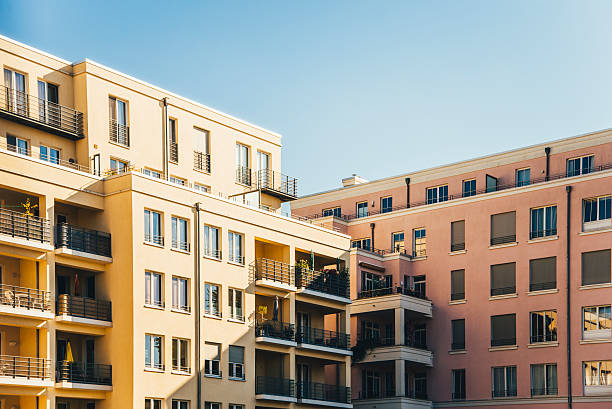 Apartments in Berlin stock photo