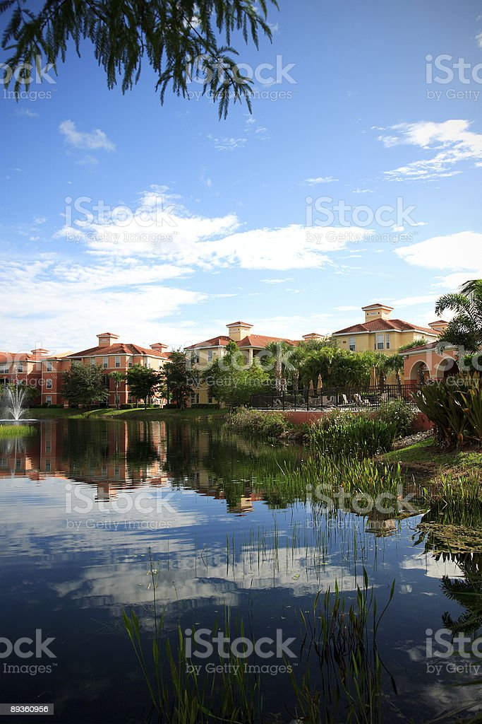 Appartamenti in florida foto stock royalty-free