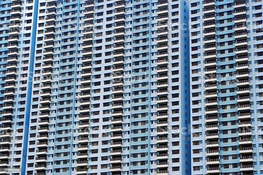 Apartments in Hong Kong stock photo