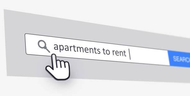 Apartments to Rent stock photo