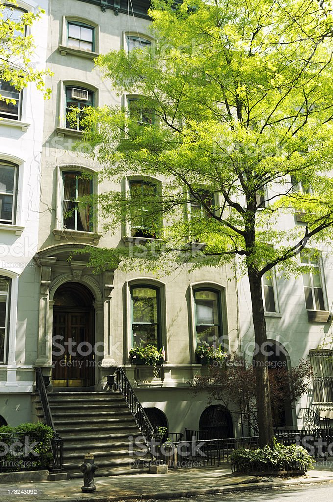 Apartments,Manhattan,NYC royalty-free stock photo