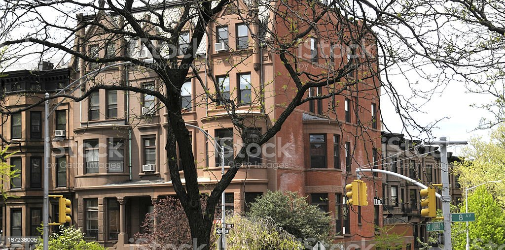 Apartments,NYC royalty-free stock photo