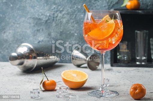 istock Aperol spritz cocktail 935719416