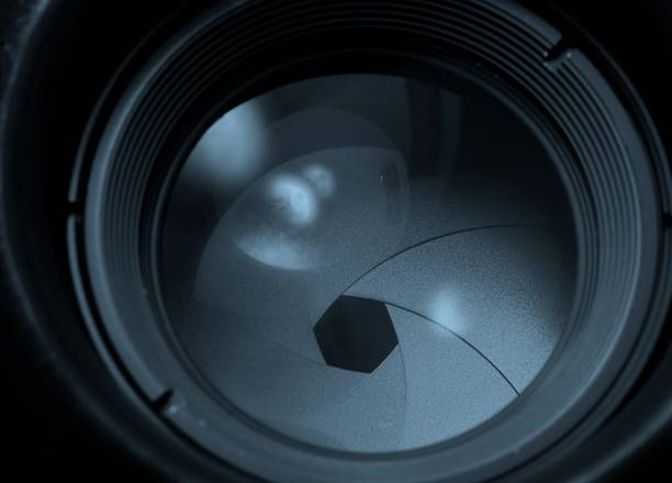 aperture 2 version cool - aperture stock pictures, royalty-free photos & images