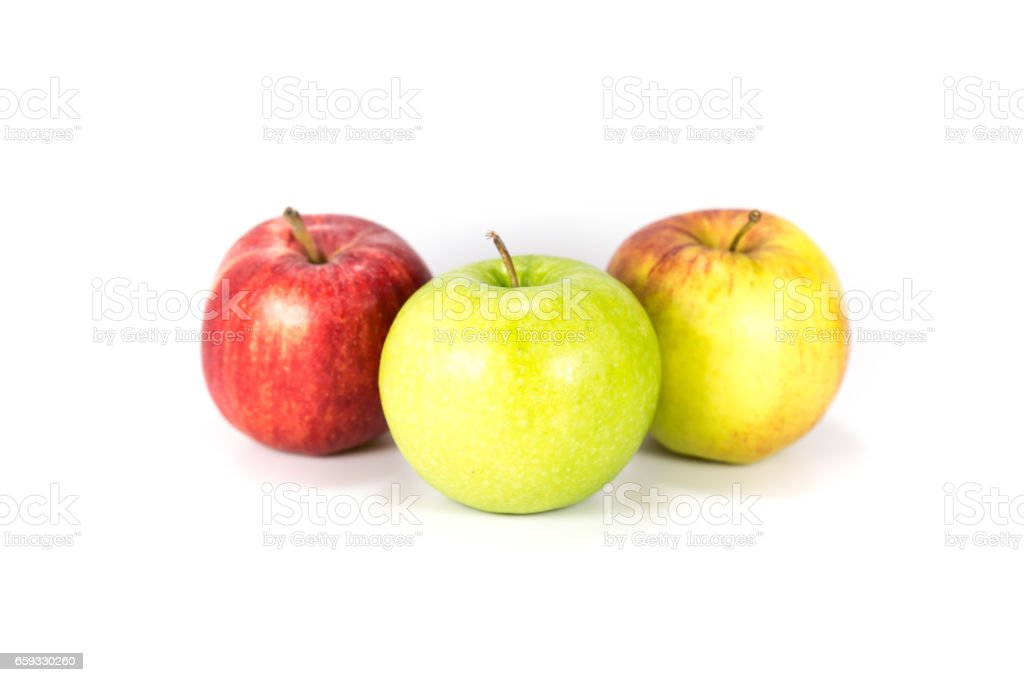 Apfel stock photo