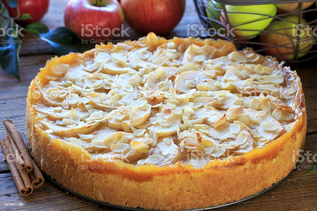 Apfelkuchen stock photo