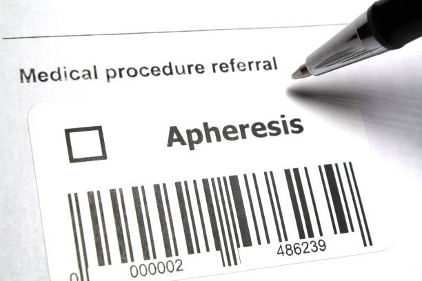 Apheresis Therapeutic medical procedure referral - Apheresis stem cell therapy stock pictures, royalty-free photos & images