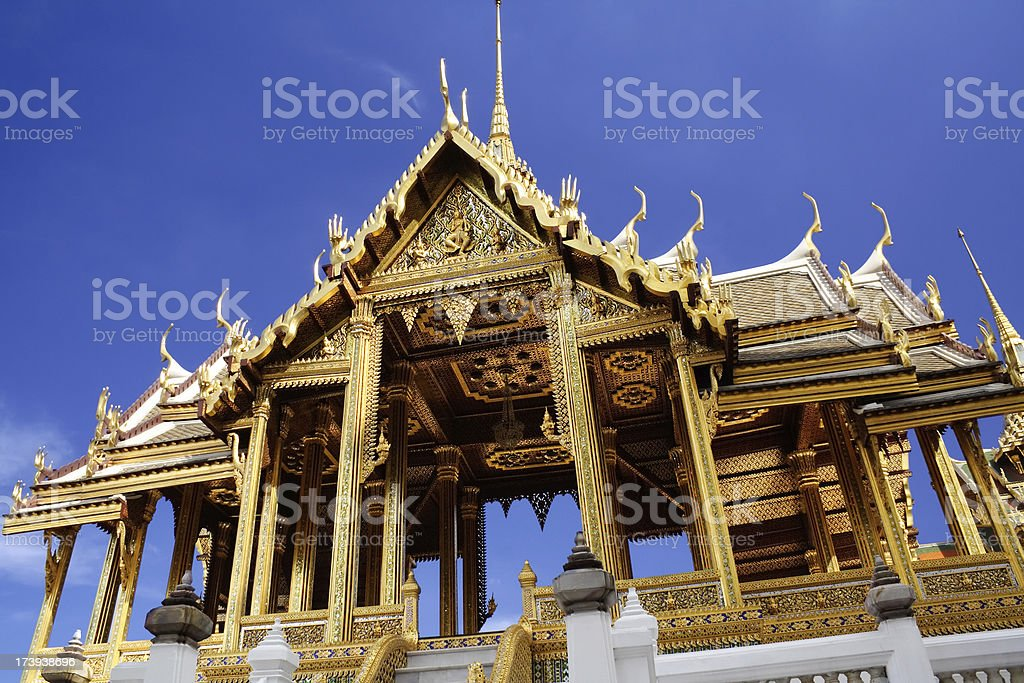 Aphorn Phimok Prasat Pavilion royalty-free stock photo