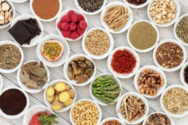 afrodisiacum voedsel sampler - caernarfon and merionethshire stockfoto's en -beelden