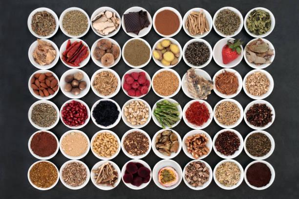 afrodisiacum health food sampler - caernarfon and merionethshire stockfoto's en -beelden