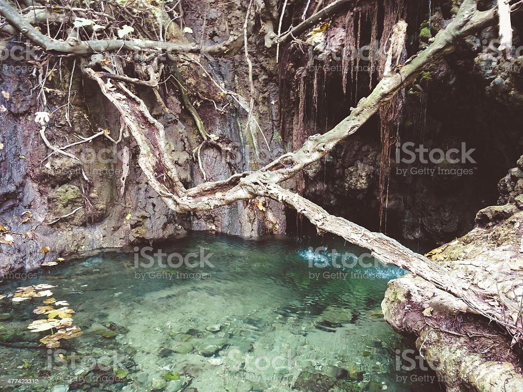 Aphrodite-Bad, einer natürlichen trail – Foto