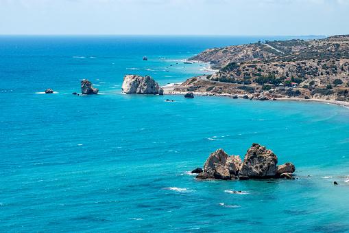 istock Aphrodite beach in Cyprus 989213220