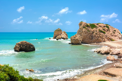 istock Aphrodite birthplace, Phaphos, Cyprus 1022357432