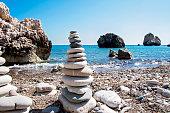 Famous touristic landmark Aphrodite's rock