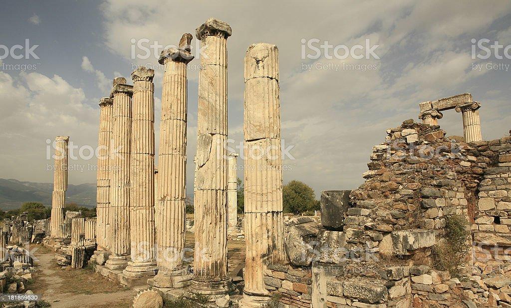 Aphrodite-Tempel von Aphrodisias – Foto