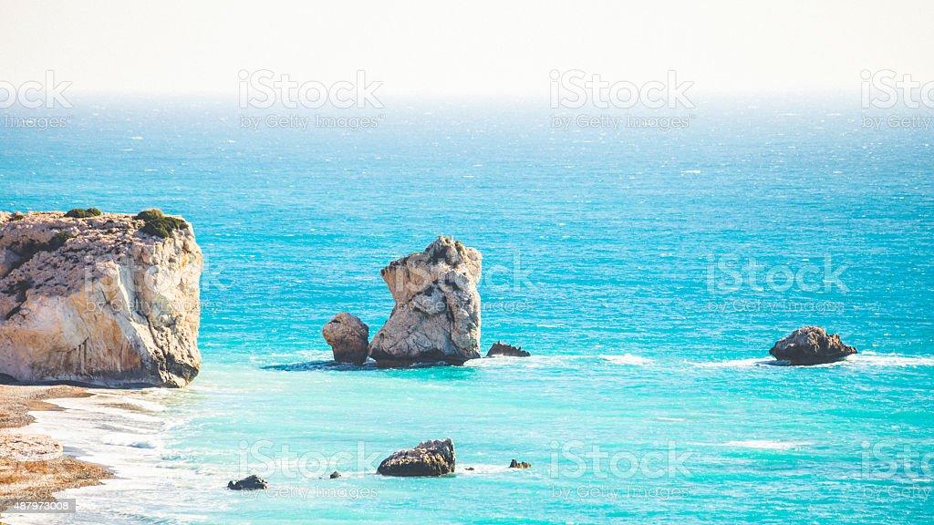 Aphrodite's Rock, Zypern. – Foto