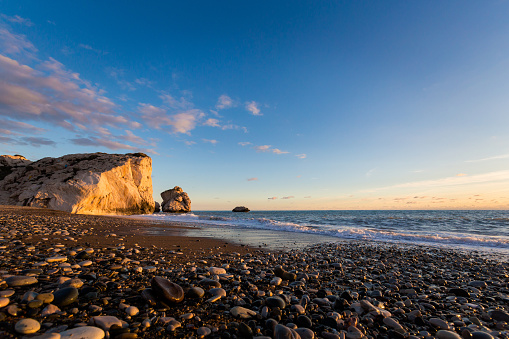 istock Aphrodite's rock during sunset Cyprus 1094792508