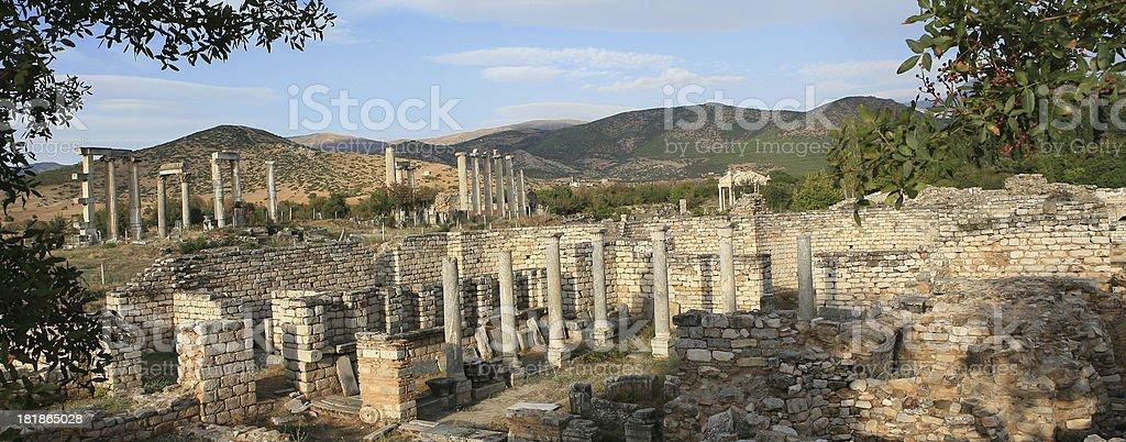 Aphrodites Tempel, Genezareth-Portico und Tetrapylon – Foto