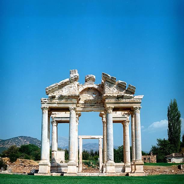 Überreste Aphroditis Tempel – Foto