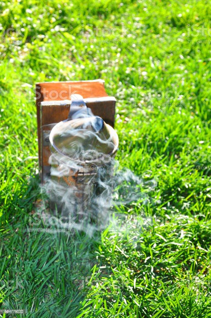 Apiary. Beekeeper equipment royalty-free stock photo