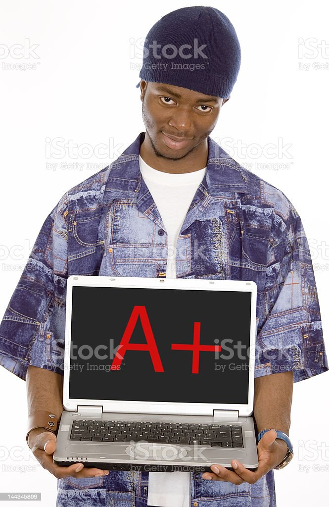 Aplus Student stock photo