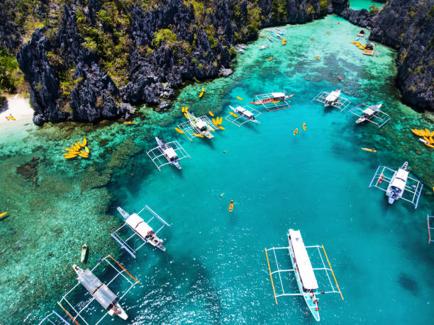Apo island aerial view Awesome Apo island aerial view. Negros area. Philippines apothegm stock pictures, royalty-free photos & images
