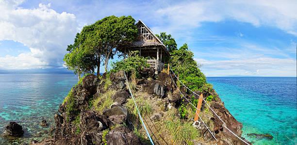 Apo island, Philippines Picturesque sea landscape. Apo island, Philippines apothegm stock pictures, royalty-free photos & images