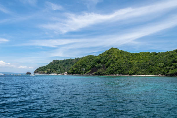 Apo Island,Philippines Apo Island, the Turtle Island where you snorkel and dive in the middle of sea turtles. Negros Oriental , Philippines apothegm stock pictures, royalty-free photos & images