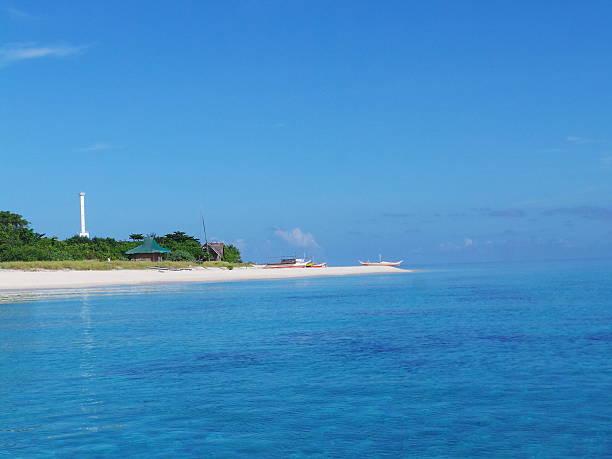 Apo Reef lighthose Apo reef lighthouse apothegm stock pictures, royalty-free photos & images