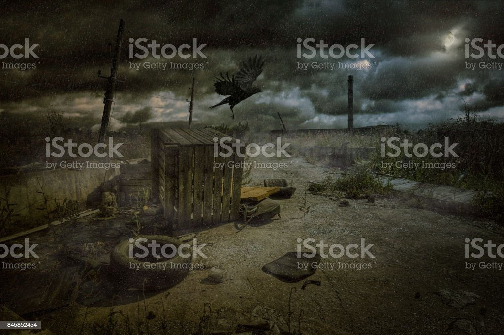 Apocalypse gets closer stock photo