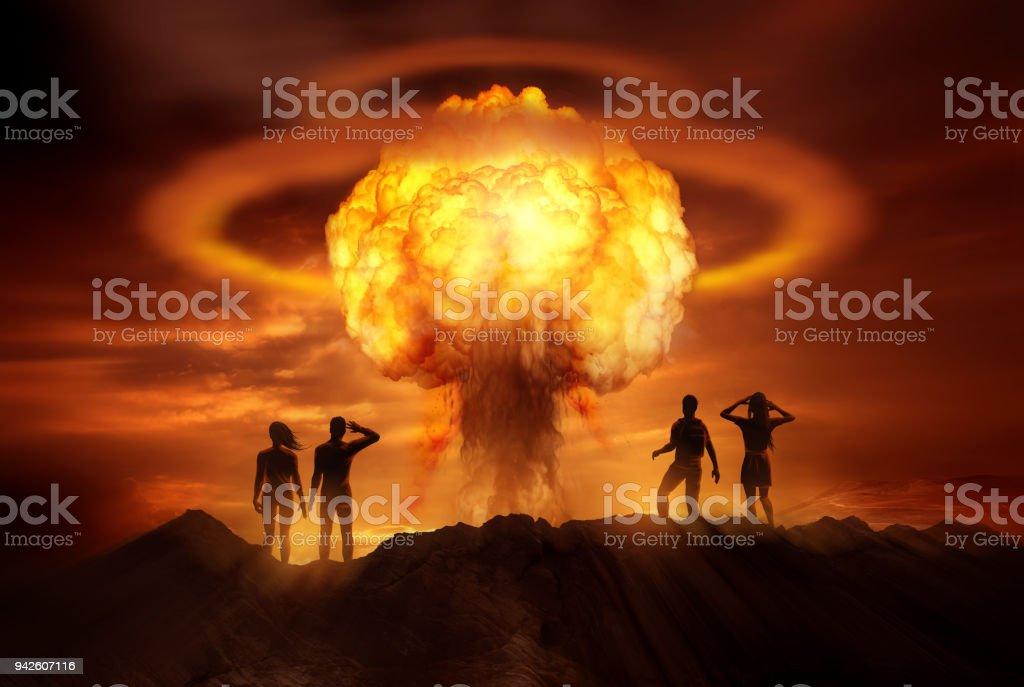 Apokalyptische Atombombe – Foto