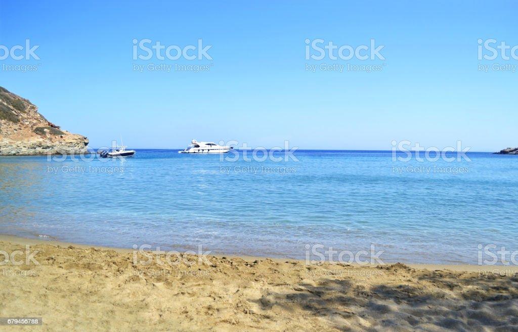 Apokofto beach Sifnos Greece royalty-free stock photo
