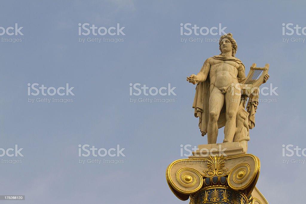 Apollo, Greek God royalty-free stock photo