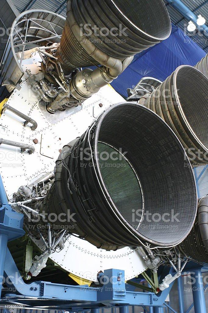 Apollo-Rakete-Triebwerke – Foto