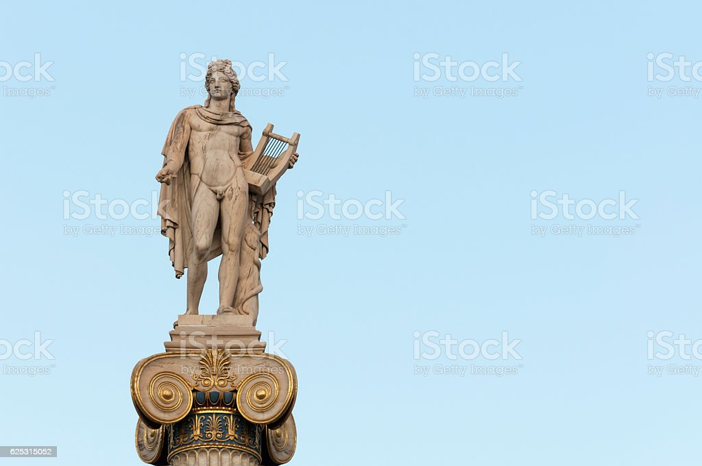 Apollo statue_right space - Photo